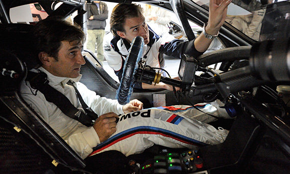 Alex Zanardi Completes Test In Dtm Title Winning Bmw Dtm