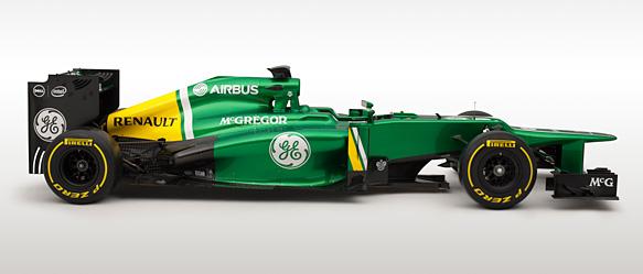 Caterham CT03 Formula 1 car presented at Jerez - F1 news - AUTOSPORT.com
