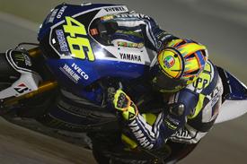 MotoGP Qatar: Valentino Rossi says traffic cost him top-five start - MotoGP news - AUTOSPORT.com