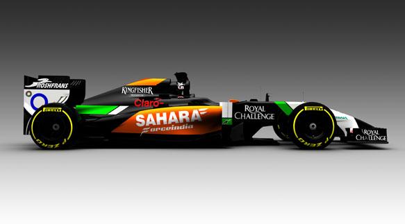New F1 Car 2014 5