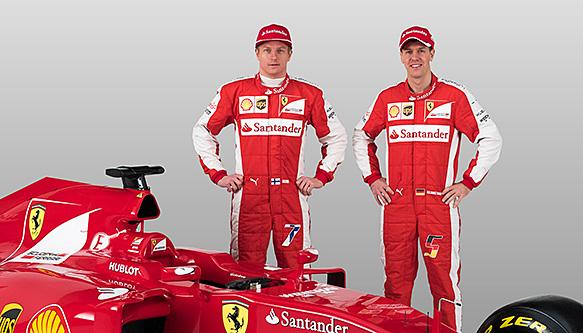 Ferrari Team f1 2015 Ferrari f1 Team-mate