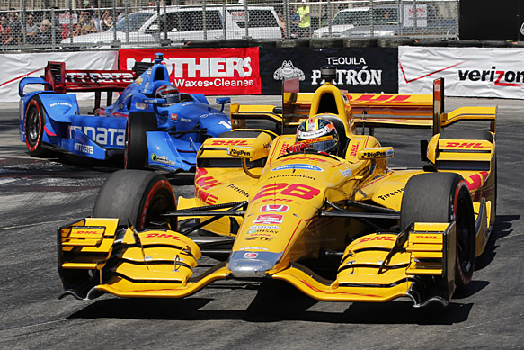 Honda Indycar Teams Seek Aero