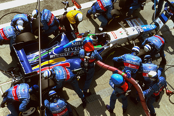 F1 tankimispeatus