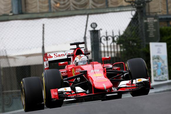 Monaco GP: Sebastian Vettel fastest in final practice for ...