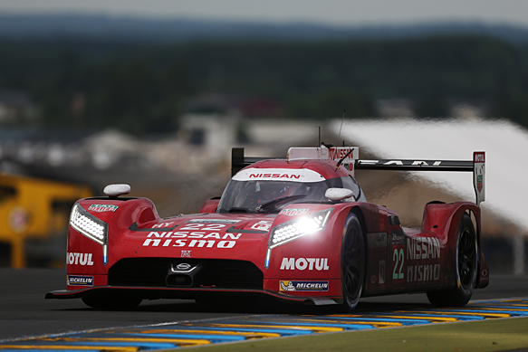 nissan gt r lm nismo lmp1 ran without hybrid in le mans 24 hours wec news. Black Bedroom Furniture Sets. Home Design Ideas