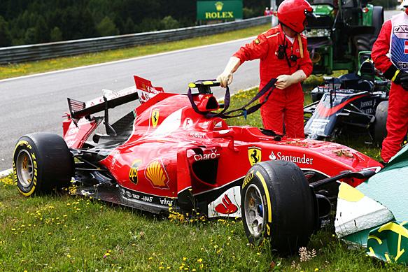 Formula Crash 2015 Crash Austrian gp 2015