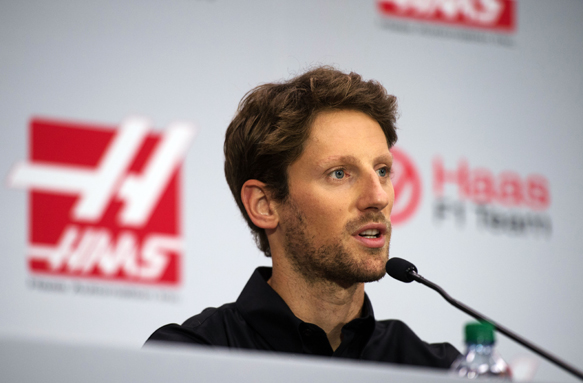 Romain Grosjean Foto By AutoSport.com