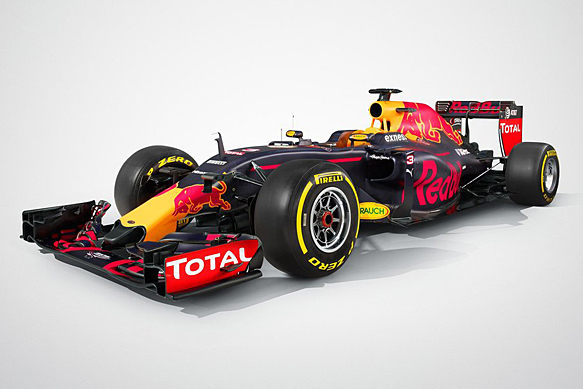 Red Bull Racing Reveals Its 2016 Formula 1 Car The Rb12